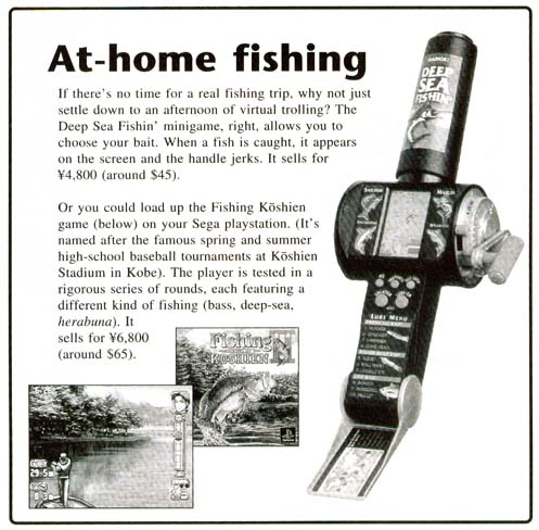 Radica ultimate bass fishing instructions for Fishing video games